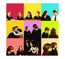 Ron & Hermione - Romione by redroseses