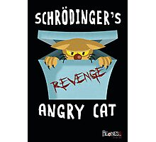 Schrödinger's angry cat Photographic Print