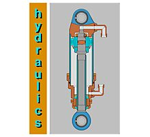 Hydraulics Photographic Print