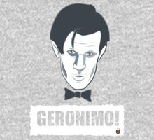 Doctor Who GERONIMO! Kids Tee