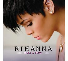 rihanna take a bow cute Photographic Print