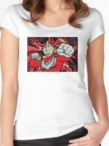Ultraman! Women's Fitted Scoop T-Shirt