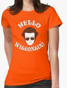 Hyde: Hello Wisconsin! Womens Fitted T-Shirt