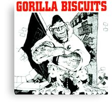 gorilla biscuits gorilla biscuits Canvas Print