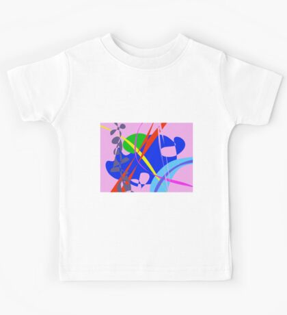 Psychedelic Abstract Pattern Kids Tee