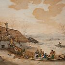 German School, early 19th century, Rescue During a Flood by MotionAge Media
