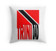 Flag TRINIDAD Throw Pillow