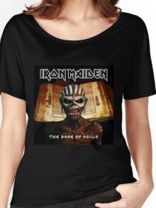 IRON MAIDEN BOOK OF SOULS 2016 Women's Relaxed Fit T-Shirt