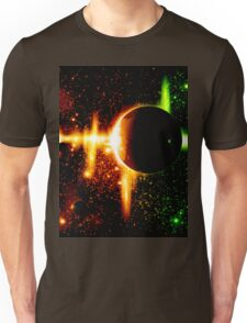 Retro space background Unisex T-Shirt