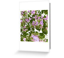 branch with flowers Greeting Card