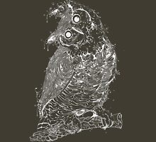 Owl white Unisex T-Shirt