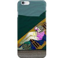 Cambridge punting #1 iPhone Case/Skin
