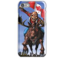 IRON MAIDEN ON CANADA iPhone Case/Skin