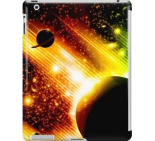 Retro space background iPad Case/Skin