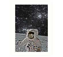 Apollo 9 Colorization by LarcenIII Art Print