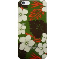 Floral Print iPhone Case/Skin