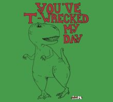 Animals Are Mean: T-Rex One Piece - Short Sleeve