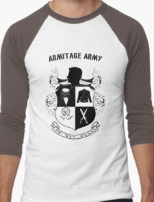 Armitage Army CoA -txt- Men's Baseball ¾ T-Shirt