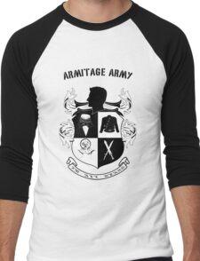 Armitage Army CoA -txt- Men's Baseball ¾ T-Shirt