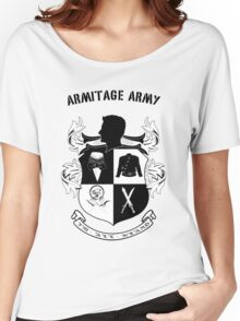 Armitage Army CoA -txt- Women's Relaxed Fit T-Shirt