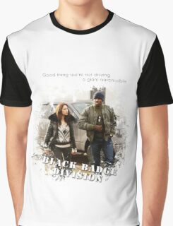 Wynonna Earp - Black Badge Division Graphic T-Shirt