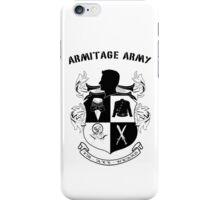 Armitage Army CoA -txt- iPhone Case/Skin