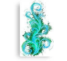 Abstract Flame Canvas Print