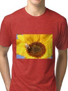 Sunflower Bee Tri-blend T-Shirt