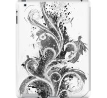 Abstract Flame Sketch iPad Case/Skin