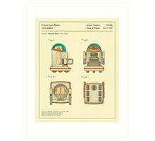 ROBOT (1987) Art Print