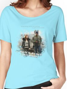 Wynonna Earp - Black Badge Division Women's Relaxed Fit T-Shirt