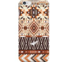 Navajo colorful  tribal pattern with geometric elements iPhone Case/Skin