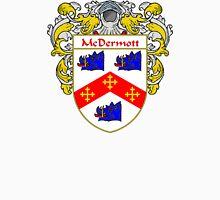 McDermott Coat of Arms/Family Crest Unisex T-Shirt