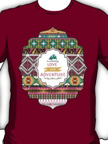 Native american colorful  tribal pattern T-Shirt