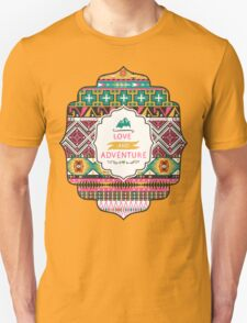 Native american colorful  tribal pattern Unisex T-Shirt