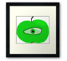 The Apple Of My Eye Framed Print