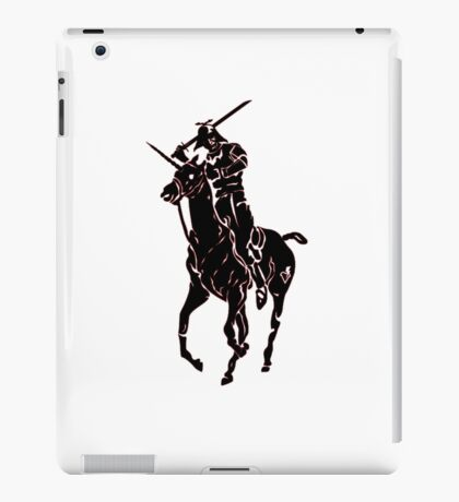 samurai polo iPad Case/Skin