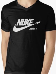 Nuke - Just Do It Mens V-Neck T-Shirt