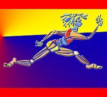 Dance Warrior IV Le Leep by JimmyGlenn Greenway