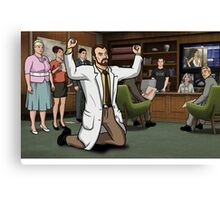 Krieger Tantrum Canvas Print