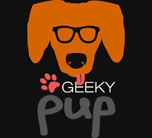 Geeky Pup with Floppy Ears Unisex T-Shirt