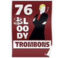 76 bloody trombons Poster