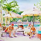 Beside The Pool by Sunflower3