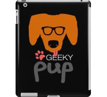 Geeky Pup with Floppy Ears iPad Case/Skin
