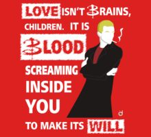 Love is Blood Kids Clothes