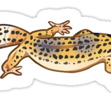 Fastwalking Normal Leopard Gecko Sticker