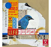 Hello World Photographic Print