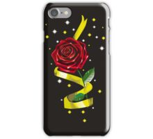 Beauty and the Beast Illustration iPhone Case/Skin