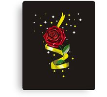 Beauty and the Beast Illustration Canvas Print