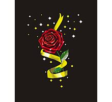 Beauty and the Beast Illustration Photographic Print
